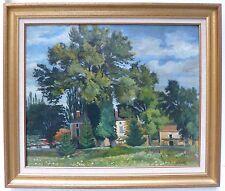 Real Charles Huile sur toile signée Bordeaux Paris art expressionnisme