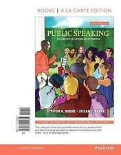 Public Speaking: An Audience-Centered Approach, Books a la Carte Edition (10th E