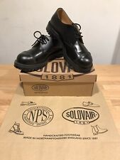 NPS SOLOVAIR Black Shine Steel Toe Gibson Boots Shoes!SizeUK11!New!Only£159.90!