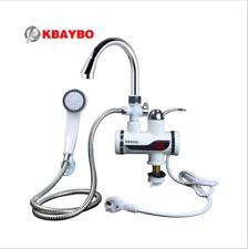 Elektrischer Wasserhahn (dusche) Durchlauferhitzer Warmwasser f. Bad u. Küche