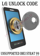 Unlock code LG Escape2 H445 LG Risio H343 LG G Stylo H634 Cricket NCK CODE ONLY