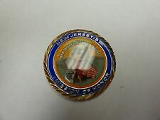 CHALLENGE COIN NEW JERSEYS MISSION OF HONOR CREMAINS OF AMERICAN VETERANS