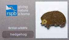 RSPB Pin Badge   Hedgehog   GNaH [00261]