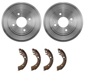 Brembo Rear Drums and Shoes Brake Kit for Honda Civic LX DX Si GX EX HX '01-'05