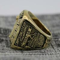 Year 1957 Montreal Canadiens Stanley Cup Championship Copper Ring 8-14Size