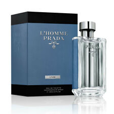 New L'Homme Prada Milano L'Eau By Prada Eau de Toilette For Men 100ML 3.4oz NIB
