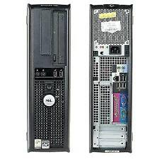 Small form factor desktop computer Intel Core 2 Duo 2.9 GHz Processor 4GB Memory