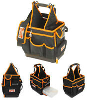 """BAHCO 4750FB3-12 Electricians/Plumbers 12"""" Tool Tote & Parts Storage Bag Holder"""