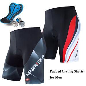 Cycling Shorts Padded Men Bike Shorts Road MTB Bottoms Cyclist Tights Wear