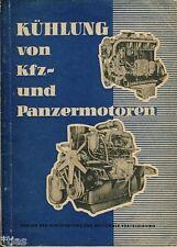Kühlung von Kraftfahrzeug und Panzermotoren Fachbuch Panzer T 34 Motor DDR 1957
