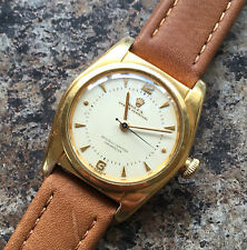 1940s Rolex Oyster Perpetual Gold Capped Automatic 2940 Bubble Back -Pretty Dial