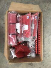 New ListingWall Control Red Storage Lot Accessories Bins Hooks Mounting Hardware
