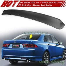For ACURA TSX 7th HONDA Accord euro CL7 CL9 OE Type Roof Spoiler 2008