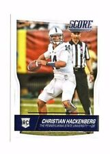 Christian Hackenberg , (Rookie) 2016 Panini Score, #334 , Football Card !!