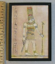 "1:12 scale Miniature Painting ""Egyptian Relic"" OOAK Artist made LesBonArt"