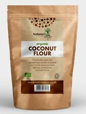 Certified Organic Coconut Flour - Raw High Quality For Baking Cooking ALL SIZES