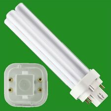 2x 16w 4 Pin COMPACT 2D FLOURESCENT LOW ENERGY SAVING LAMP LIGHT BULB 4000K 3014