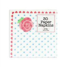 Vintage Paper Napkins Afternoon Tea Party Rose Polka Dot Decoration 30 60 90 120