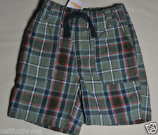 Gymboree baby infant boy plaid shorts size 6-12 months NWT bottoms boys