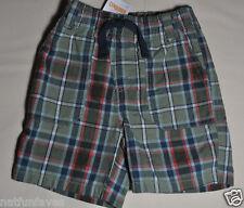 Gymboree baby infant boy plaid shorts size 6-12 months NWT bottoms boys