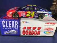 """S-100 JEFF GORDON # 24 DUPONT """"CLEAR"""" 2001 CHEVY MONTE CARLO -1:24 SCALE"""