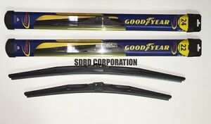1997 Eagle Vision Goodyear Hybrid Style Wiper Blade Set of 2