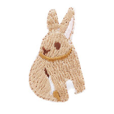 Rabbit Cat Animal Embroidered Applique Iron On Sew On Patch DIY Crafts 6A