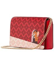 NWT kate spade new york Tom & Jerry Chain Wallet Crossbody Clutch Purse $198