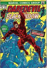 Daredevil 100 Black widow Anniversary VG 1973 Glossy