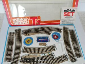 Marklin M Track 5192 Starter pack T1. As new cond. Boxed. HO Scale for 3 rail AC