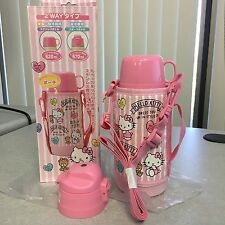 2016 New Sanrio HELLO KITTY thermos bottle for hot or cold drinks soups 670 ml!