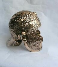 18GA Brass Medieval Knight Xanten Roman Gallic Helmet Fully Handmade