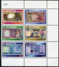 St. Maarten 2015 Banknoten Papiergeld Paper Money Währung Geld Bank Notes MNH