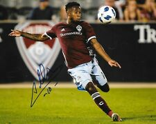 Kellyn Acosta signed Colorado Rapids 8x10 photo autographed
