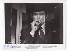 David Janssen smokes cig VINTAGE Photo King Of The Roaring 20's