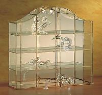VITRINE für Swarovski, Glasvitrine, Figuren, mit Licht