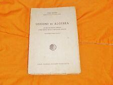 pietro pagani lezioni di algebra seconda edizione riv ,principato 1940