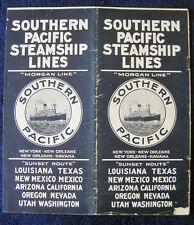 SOUTHERN PACIFIC STEAMSHIP (MORGAN LINE) - 1922 Brochure, SS CREOLE, SS MOMUS
