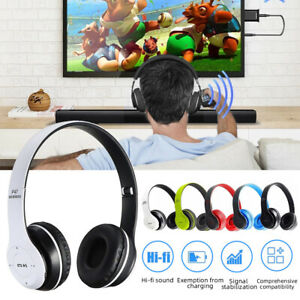 Bluetooth Kopfhörer Wireless Stereo Headset für Computer TV PC Telefon Laptop