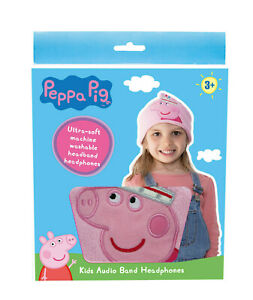 OTL Technologies Peppa Pig Princess Headband-Style Wired Headphones for Ages 3+
