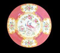 Stunning Minton Pink Cockatrice Dinner Plate