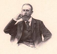 Portrait Albert Pierre Dawant Peintre Peinture