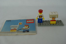 Lego Classic Town 601 Shell gas pump with instructions no box 1978