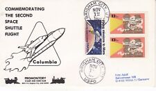 12 NOVEMBER 1981 COLUMBIA SPACE SHUTTLE STS 2 COVER BINGHAM CITY USPO CDS