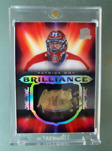 2019-20 The Cup Brilliance Auto Patrick Roy! Montreal Canadiens... RARE
