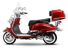 Retro Roller Mofa 25 45 KMH Motorroller 50 49 ccm Moped rot EASYCRUISER 2017