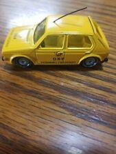VINTAGE SIKU 1333 VW Golf LS Telecommunications car from the 1980S