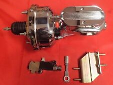 1964 1965 1966 ford mustang CHROME brake booster AND MASTER CYLINDER CHROME PV2C