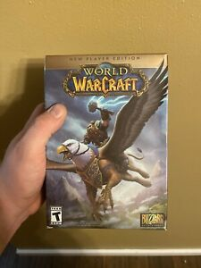 World of Warcraft: New Player Edition PC Blizzard FACTORY SEALED FREE SHIPPING