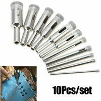 10pcs 3mm-18mm Diamond Tool Drill Bit Hole Saw Set for Ceramic Glass Marble Tile